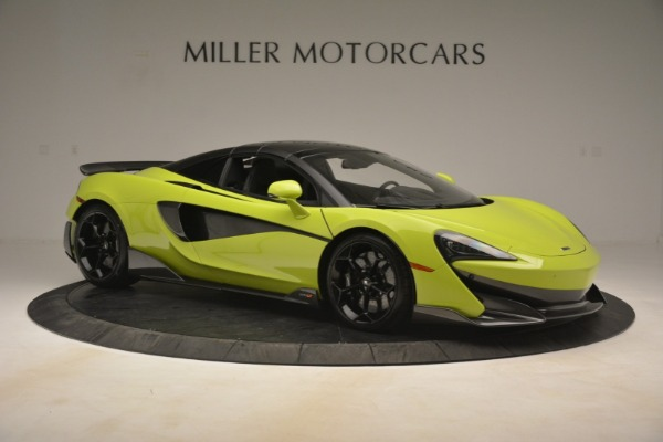 New 2020 McLaren 600LT Spider for sale $281,570 at Rolls-Royce Motor Cars Greenwich in Greenwich CT 06830 8