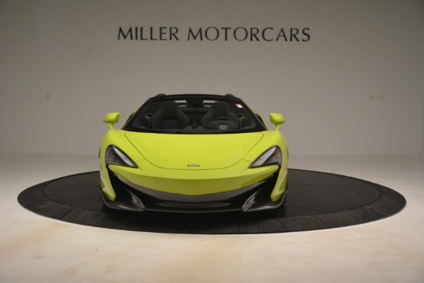 New 2020 McLaren 600LT Spider for sale $281,570 at Rolls-Royce Motor Cars Greenwich in Greenwich CT 06830 9