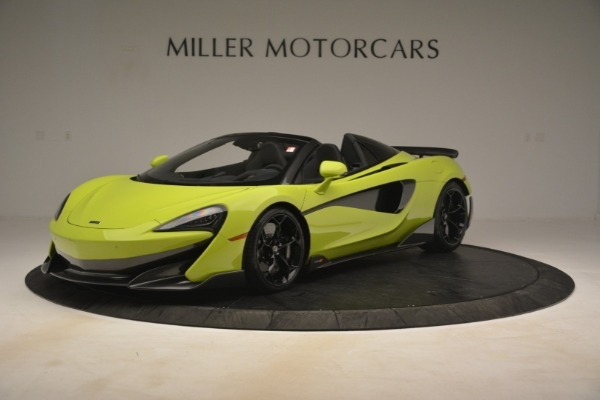New 2020 McLaren 600LT Spider for sale $281,570 at Rolls-Royce Motor Cars Greenwich in Greenwich CT 06830 1