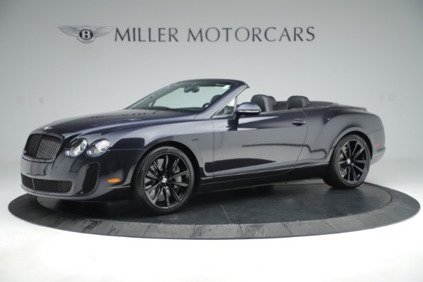 Used 2012 Bentley Continental GT Supersports for sale Sold at Rolls-Royce Motor Cars Greenwich in Greenwich CT 06830 2