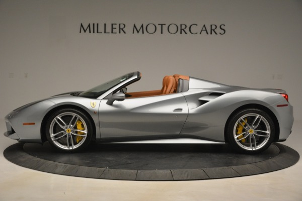 Used 2019 Ferrari 488 Spider for sale Sold at Rolls-Royce Motor Cars Greenwich in Greenwich CT 06830 3
