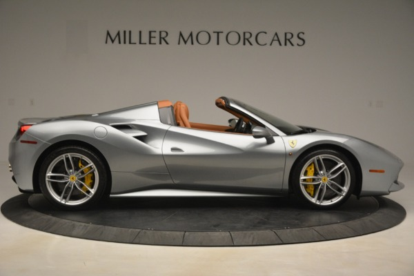 Used 2019 Ferrari 488 Spider for sale Sold at Rolls-Royce Motor Cars Greenwich in Greenwich CT 06830 9
