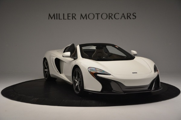 Used 2015 McLaren 650S Convertible for sale Sold at Rolls-Royce Motor Cars Greenwich in Greenwich CT 06830 10