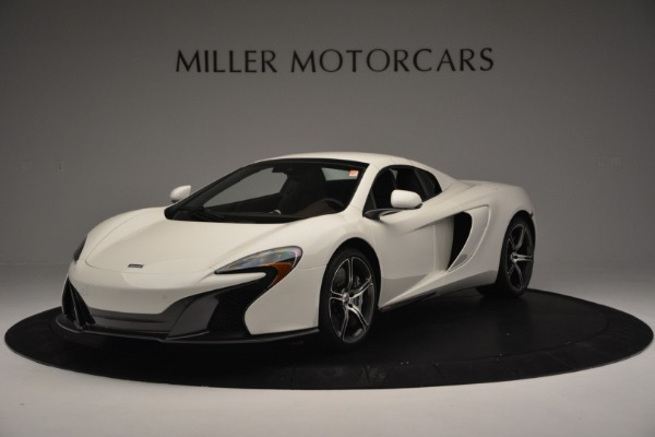 Used 2015 McLaren 650S Convertible for sale Sold at Rolls-Royce Motor Cars Greenwich in Greenwich CT 06830 11