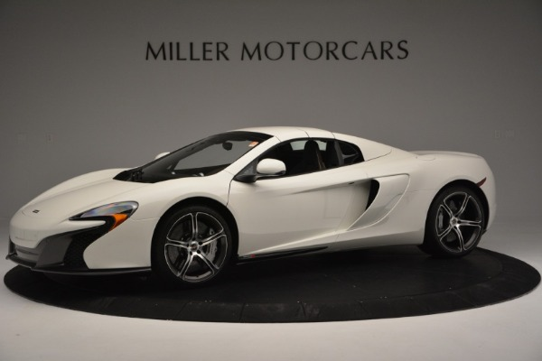 Used 2015 McLaren 650S Convertible for sale Sold at Rolls-Royce Motor Cars Greenwich in Greenwich CT 06830 12