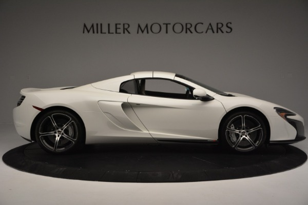 Used 2015 McLaren 650S Convertible for sale Sold at Rolls-Royce Motor Cars Greenwich in Greenwich CT 06830 14