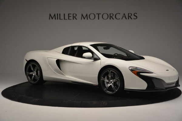 Used 2015 McLaren 650S Convertible for sale Sold at Rolls-Royce Motor Cars Greenwich in Greenwich CT 06830 15