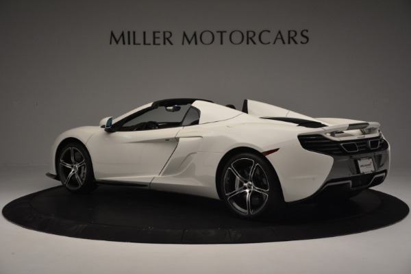 Used 2015 McLaren 650S Convertible for sale Sold at Rolls-Royce Motor Cars Greenwich in Greenwich CT 06830 3