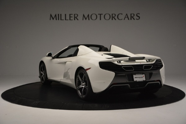 Used 2015 McLaren 650S Convertible for sale Sold at Rolls-Royce Motor Cars Greenwich in Greenwich CT 06830 4