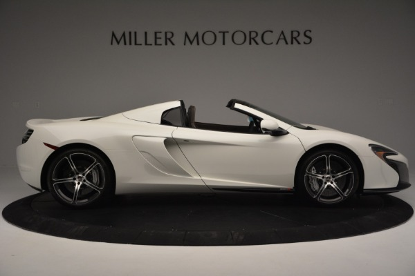 Used 2015 McLaren 650S Convertible for sale Sold at Rolls-Royce Motor Cars Greenwich in Greenwich CT 06830 8