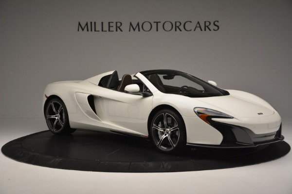 Used 2015 McLaren 650S Convertible for sale Sold at Rolls-Royce Motor Cars Greenwich in Greenwich CT 06830 9