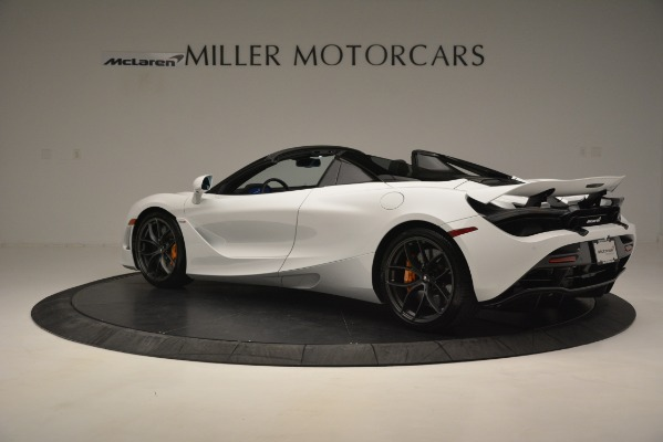 New 2020 McLaren 720S Spider Convertible for sale Sold at Rolls-Royce Motor Cars Greenwich in Greenwich CT 06830 12