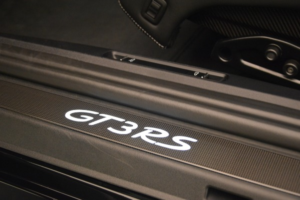 Used 2019 Porsche 911 GT3 RS for sale Sold at Rolls-Royce Motor Cars Greenwich in Greenwich CT 06830 24