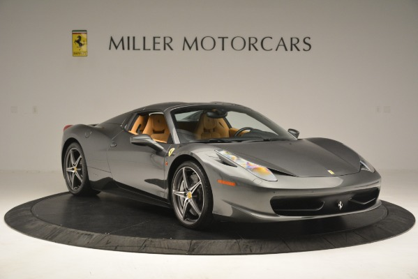 Used 2013 Ferrari 458 Spider for sale Sold at Rolls-Royce Motor Cars Greenwich in Greenwich CT 06830 13