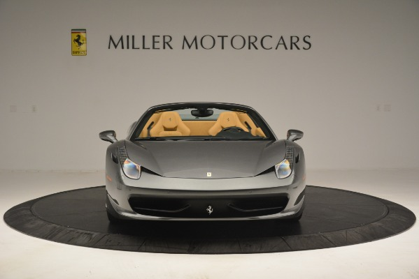 Used 2013 Ferrari 458 Spider for sale Sold at Rolls-Royce Motor Cars Greenwich in Greenwich CT 06830 6
