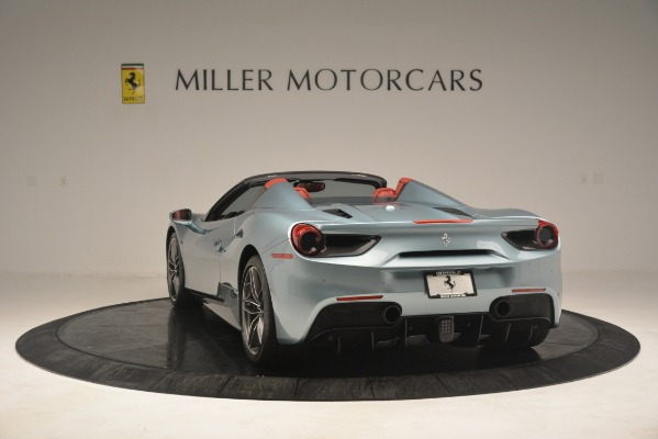 Used 2017 Ferrari 488 Spider for sale Sold at Rolls-Royce Motor Cars Greenwich in Greenwich CT 06830 5