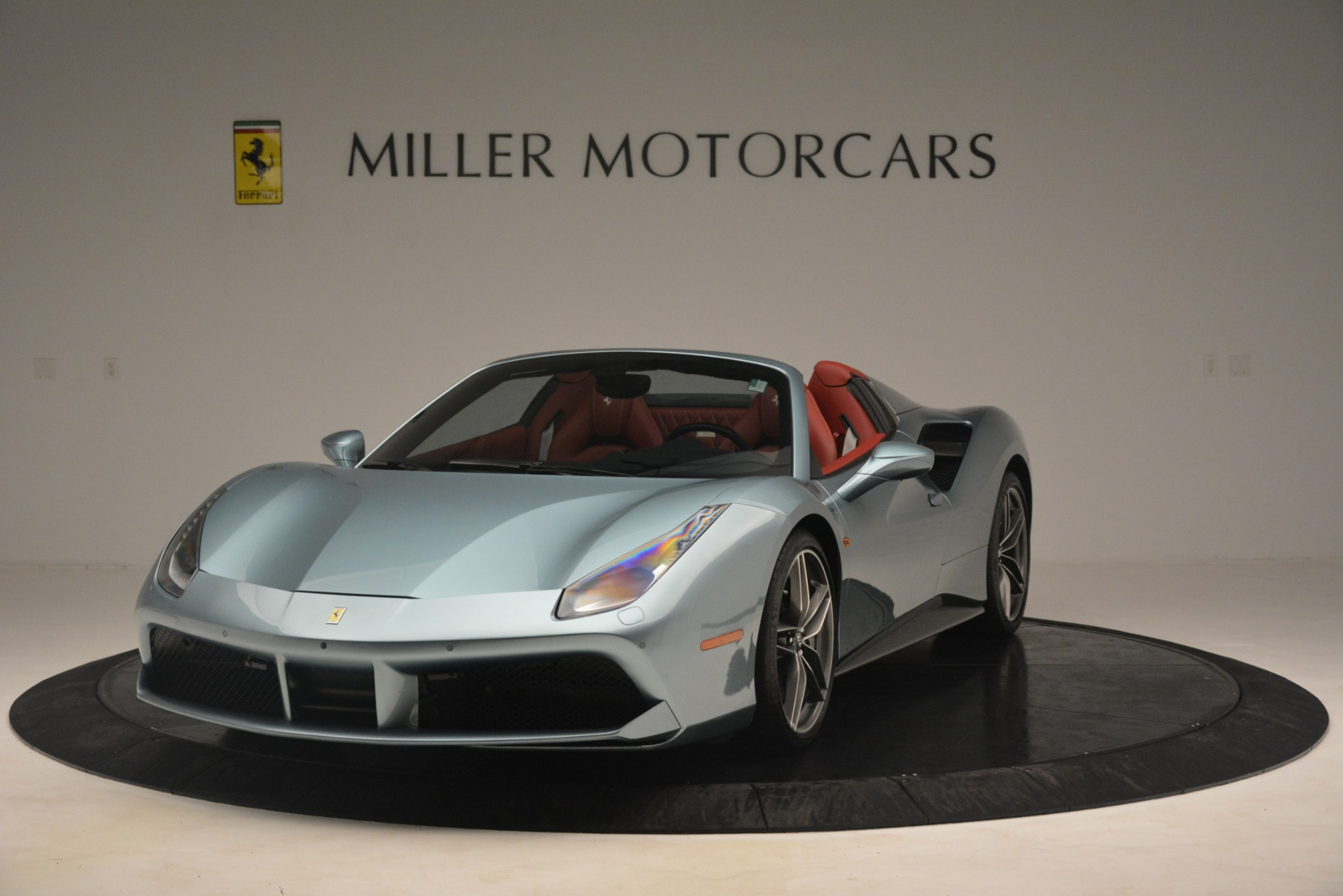 Used 2017 Ferrari 488 Spider for sale Sold at Rolls-Royce Motor Cars Greenwich in Greenwich CT 06830 1