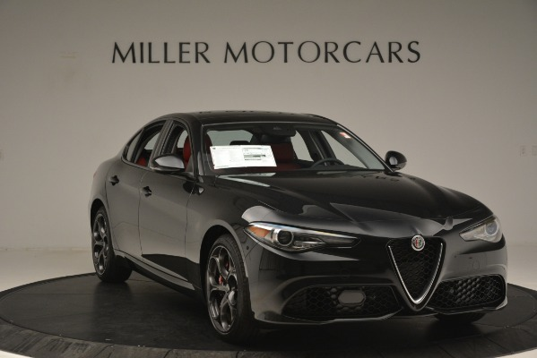 New 2019 Alfa Romeo Giulia Ti Sport Q4 for sale Sold at Rolls-Royce Motor Cars Greenwich in Greenwich CT 06830 11