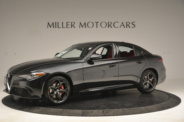 New 2019 Alfa Romeo Giulia Ti Sport Q4 for sale Sold at Rolls-Royce Motor Cars Greenwich in Greenwich CT 06830 2