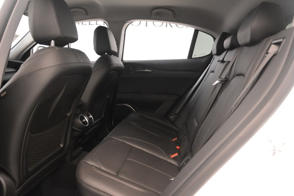 New 2019 Alfa Romeo Stelvio Q4 for sale Sold at Rolls-Royce Motor Cars Greenwich in Greenwich CT 06830 19