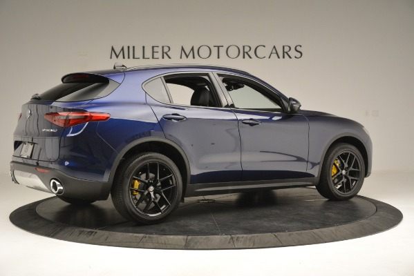 New 2019 Alfa Romeo Stelvio Ti Sport Q4 for sale Sold at Rolls-Royce Motor Cars Greenwich in Greenwich CT 06830 8