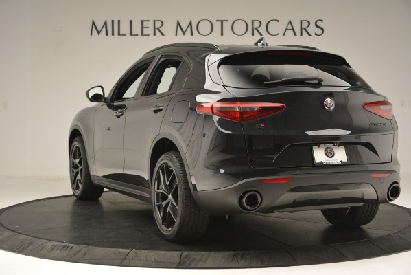 New 2019 Alfa Romeo Stelvio Ti Sport Q4 for sale Sold at Rolls-Royce Motor Cars Greenwich in Greenwich CT 06830 5