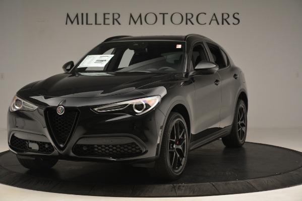 New 2019 Alfa Romeo Stelvio Ti Sport Q4 for sale Sold at Rolls-Royce Motor Cars Greenwich in Greenwich CT 06830 1