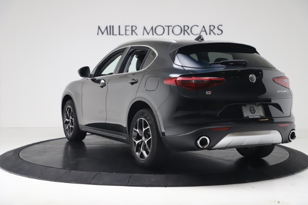 New 2019 Alfa Romeo Stelvio Ti Q4 for sale Sold at Rolls-Royce Motor Cars Greenwich in Greenwich CT 06830 5