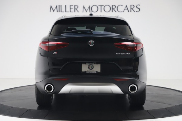 New 2019 Alfa Romeo Stelvio Ti Q4 for sale Sold at Rolls-Royce Motor Cars Greenwich in Greenwich CT 06830 6