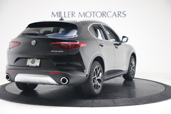 New 2019 Alfa Romeo Stelvio Ti Q4 for sale Sold at Rolls-Royce Motor Cars Greenwich in Greenwich CT 06830 7