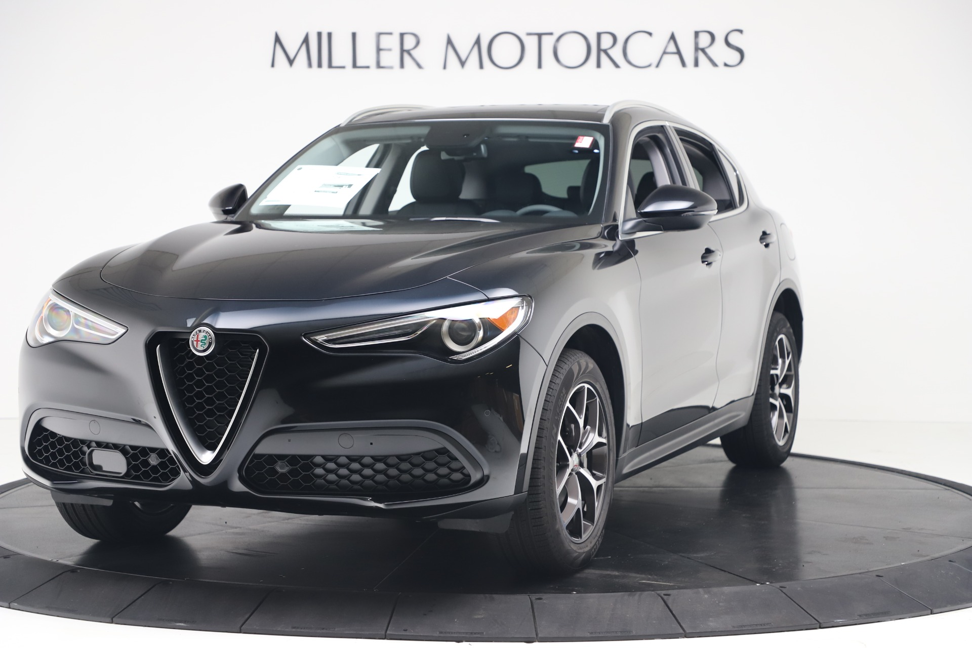 New 2019 Alfa Romeo Stelvio Ti Q4 for sale Sold at Rolls-Royce Motor Cars Greenwich in Greenwich CT 06830 1