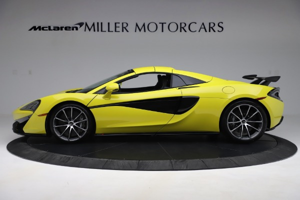 New 2019 McLaren 570S SPIDER Convertible for sale $227,660 at Rolls-Royce Motor Cars Greenwich in Greenwich CT 06830 10