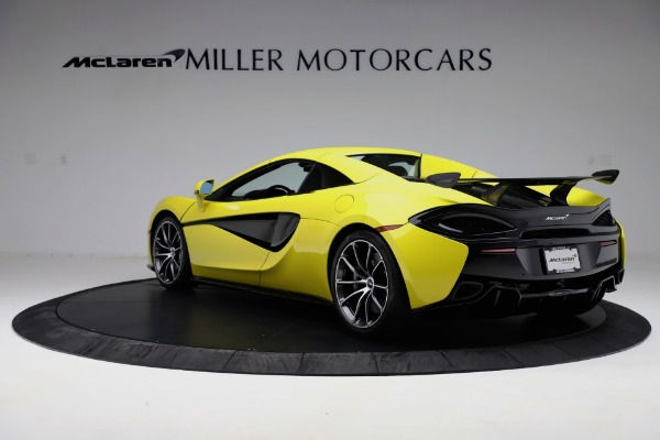 New 2019 McLaren 570S SPIDER Convertible for sale $227,660 at Rolls-Royce Motor Cars Greenwich in Greenwich CT 06830 11