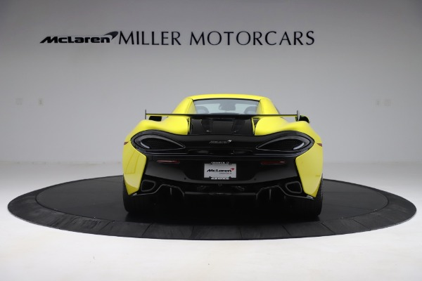 New 2019 McLaren 570S SPIDER Convertible for sale $227,660 at Rolls-Royce Motor Cars Greenwich in Greenwich CT 06830 12