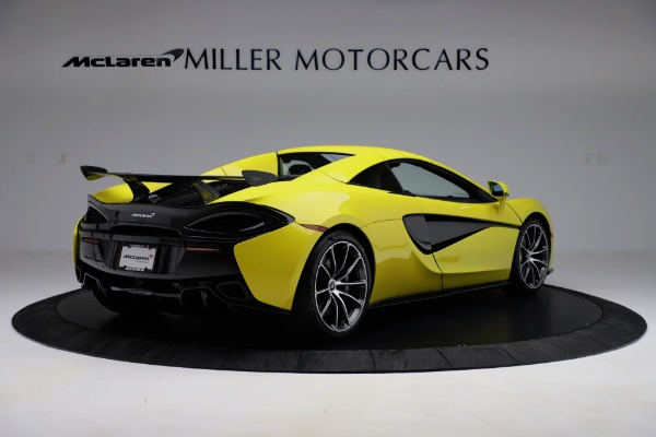 New 2019 McLaren 570S SPIDER Convertible for sale $227,660 at Rolls-Royce Motor Cars Greenwich in Greenwich CT 06830 13