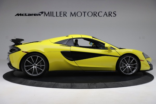 New 2019 McLaren 570S SPIDER Convertible for sale $227,660 at Rolls-Royce Motor Cars Greenwich in Greenwich CT 06830 14