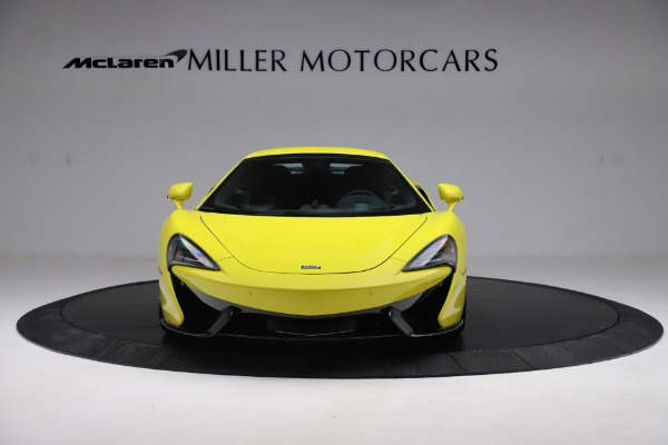 New 2019 McLaren 570S SPIDER Convertible for sale $227,660 at Rolls-Royce Motor Cars Greenwich in Greenwich CT 06830 16