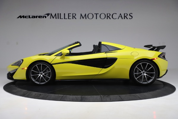 New 2019 McLaren 570S SPIDER Convertible for sale $227,660 at Rolls-Royce Motor Cars Greenwich in Greenwich CT 06830 2