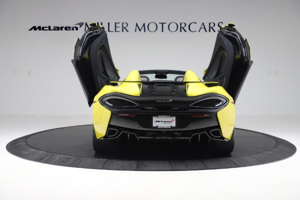 New 2019 McLaren 570S SPIDER Convertible for sale $227,660 at Rolls-Royce Motor Cars Greenwich in Greenwich CT 06830 20