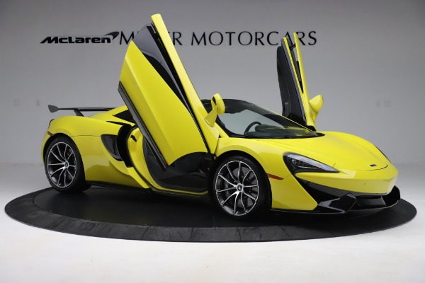 New 2019 McLaren 570S SPIDER Convertible for sale $227,660 at Rolls-Royce Motor Cars Greenwich in Greenwich CT 06830 22