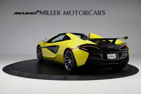 New 2019 McLaren 570S SPIDER Convertible for sale $227,660 at Rolls-Royce Motor Cars Greenwich in Greenwich CT 06830 3