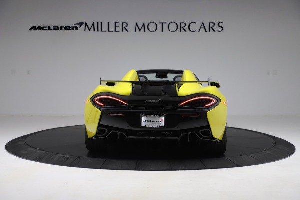 New 2019 McLaren 570S SPIDER Convertible for sale $227,660 at Rolls-Royce Motor Cars Greenwich in Greenwich CT 06830 4