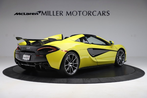 New 2019 McLaren 570S SPIDER Convertible for sale $227,660 at Rolls-Royce Motor Cars Greenwich in Greenwich CT 06830 5