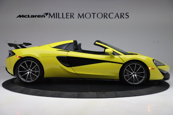 New 2019 McLaren 570S SPIDER Convertible for sale $227,660 at Rolls-Royce Motor Cars Greenwich in Greenwich CT 06830 6