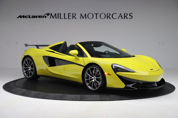 New 2019 McLaren 570S SPIDER Convertible for sale $227,660 at Rolls-Royce Motor Cars Greenwich in Greenwich CT 06830 7