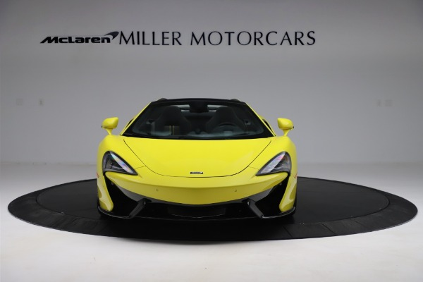 New 2019 McLaren 570S SPIDER Convertible for sale $227,660 at Rolls-Royce Motor Cars Greenwich in Greenwich CT 06830 8