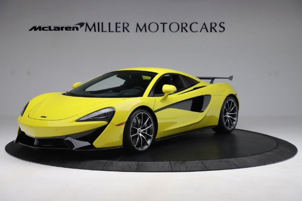 New 2019 McLaren 570S SPIDER Convertible for sale $227,660 at Rolls-Royce Motor Cars Greenwich in Greenwich CT 06830 9