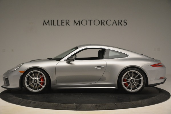 Used 2018 Porsche 911 GT3 for sale Sold at Rolls-Royce Motor Cars Greenwich in Greenwich CT 06830 3