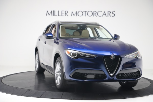 New 2019 Alfa Romeo Stelvio Ti Lusso Q4 for sale Sold at Rolls-Royce Motor Cars Greenwich in Greenwich CT 06830 11