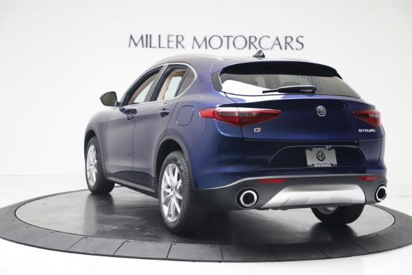 New 2019 Alfa Romeo Stelvio Ti Lusso Q4 for sale Sold at Rolls-Royce Motor Cars Greenwich in Greenwich CT 06830 5